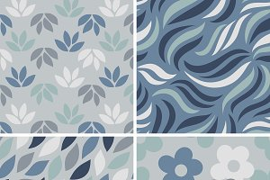 simple pattern vectors collection