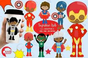 Aa Superhero Clipart AMB-2324