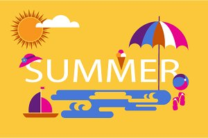 2 Summer design templates