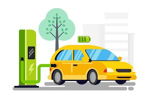 New refueling for electric car