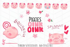 26 elements of Piggies Oink