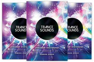 Trance Sounds Flyer
