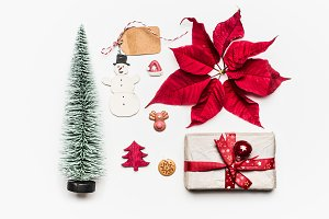 Christmas greeting objects