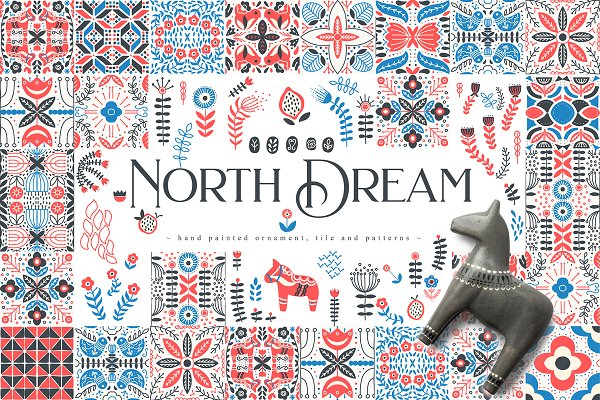 Illustrations and Illustration Products: Julia Dreams - North Dream Collection