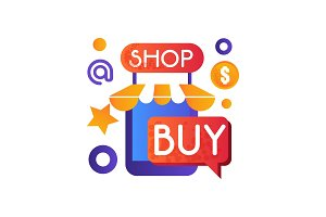 Online shop, internet shopping, e