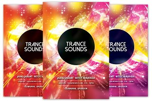 Trance Sounds Club Flyer