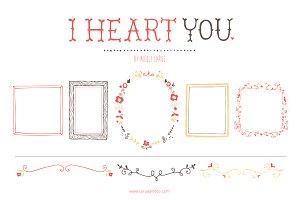 I Heart You (Vector)