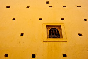 Typical arabic window