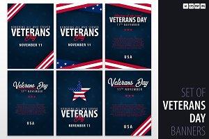 Veteran's Day. November 11