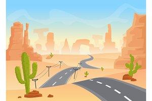Desert texas landscape.