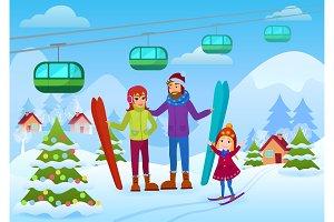 Patents and daughter ski