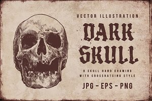 DARK SKULL ~ Vector Pack