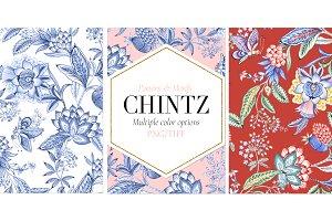 Chintz #01 Seamless Patterns & more!