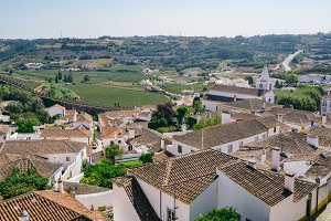 Fortified city of Obidos, Portugal