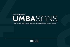UMBA SANS Bold