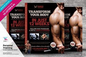 Personal Training Flyer Vol.02