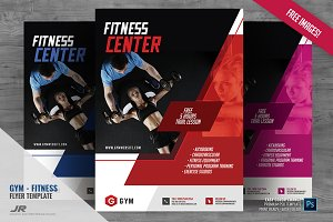 Gym and Training Flyer