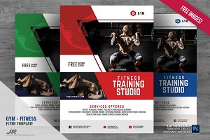 Gym Promotional Flyer