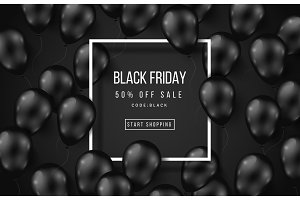 Black Friday Sale Poster Dark
