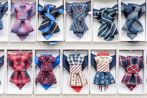 Set of stylish bow ties for sale