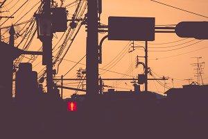 Red Pedestrian Traffic Light