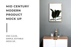 Mid Century Modern Mock Up