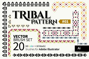 Tribal Pattern Brush #01