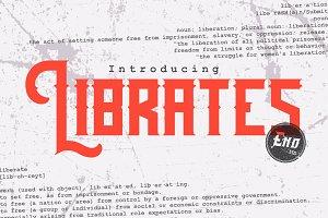 Librates Typeface