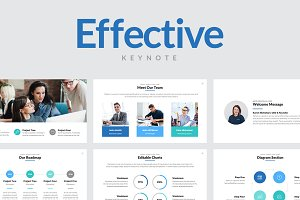 Effective Keynote Template
