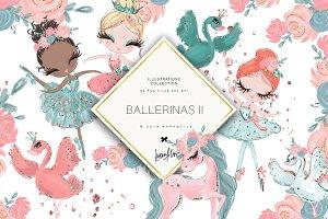 Ballerina Clipart Vol. 2