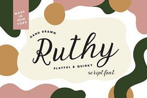 Ruthy Script Font