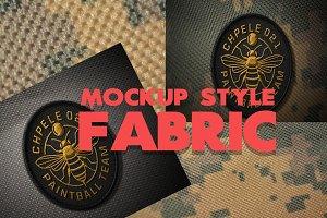 Mockup Style Fabric