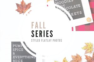 Fall Series | Flatlay Photos