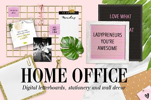 HOME OFFICE - Digital stationery