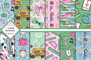 Cute Back to School Patterns