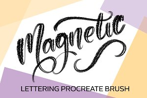 Magnetic Procreate Brush