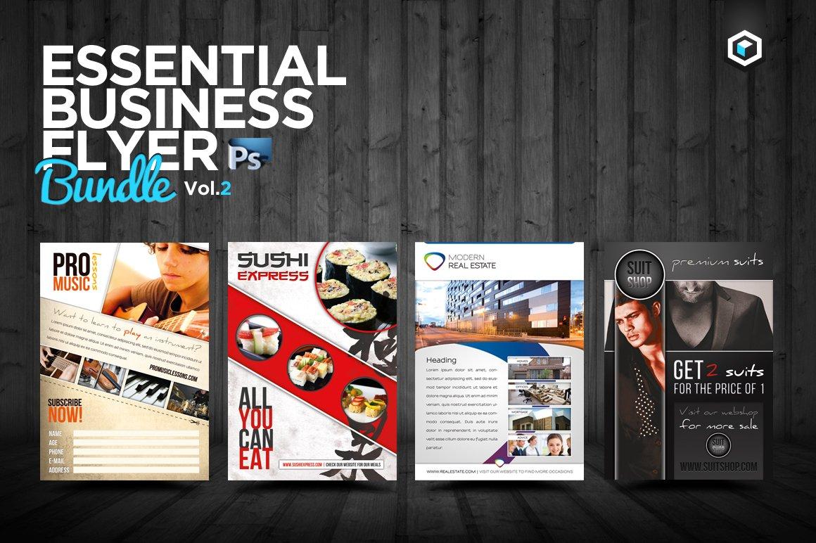 Rw Essential Business Flyers Vol 2 Flyer Templates Creative Market