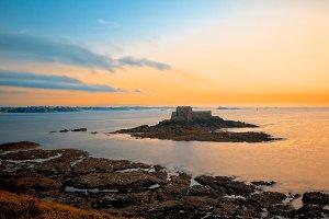 Saint-Malo Twilight