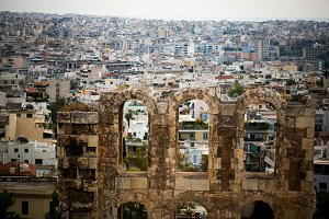 Athens Old and New