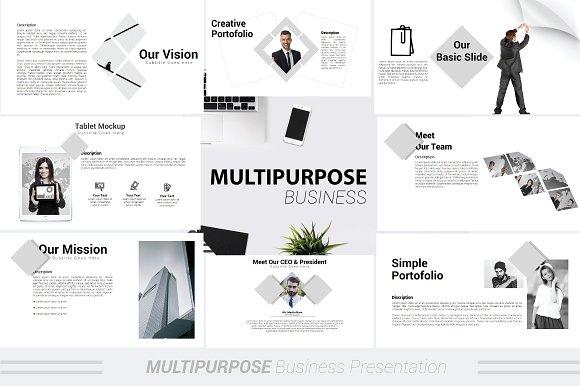 multipurpose powerpoint template presentation templates creative