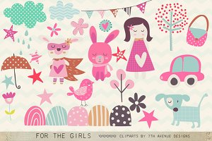 For the Girls Clipart
