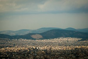 Modern Athens in Shadows