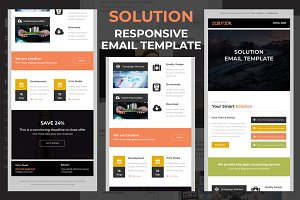 Solution - Responsive email template