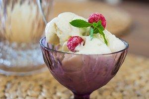 Tasty dessert concept