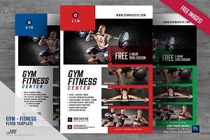 Fitness Studio Promo Flyer
