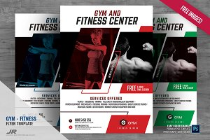 Fitness Training Studio Flyer