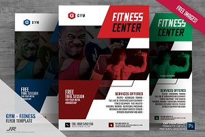 Gym and Body Building Flyer