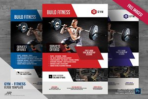 Gym and Body Fitness Flyer
