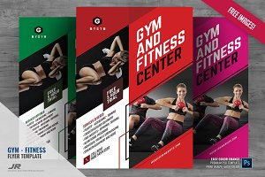 Gym and Sports Studio Flyer