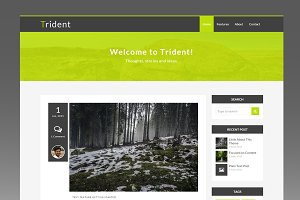 Trident - Minimal Ghost Blog Theme